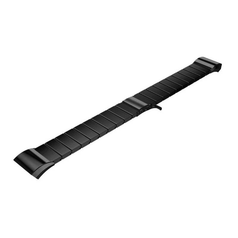 Remienok WG na Samsung Gear S2 (R720), kovový rovný (9120) čierny