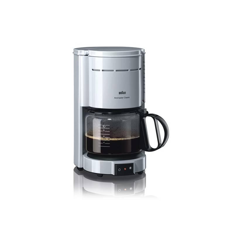Kávovar Braun KF 47/1 WH biely