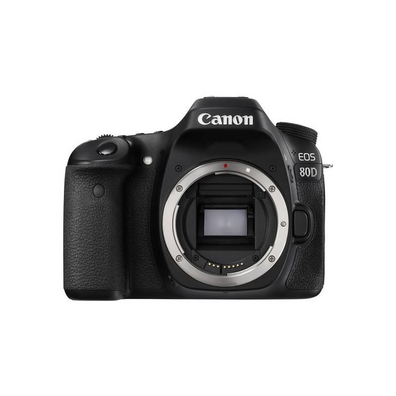 Digitálny fotoaparát Canon EOS 80D tělo (1263C032) čierny + Cashback 100 € + Doprava zadarmo