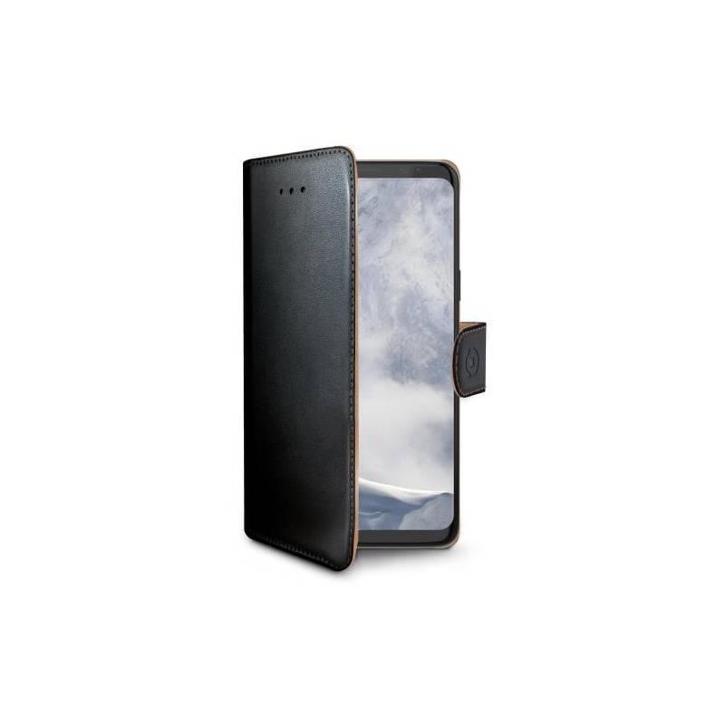 Puzdro na mobil flipové Celly Wally pro Samsung Galaxy S9+ (WALLY791) čierne