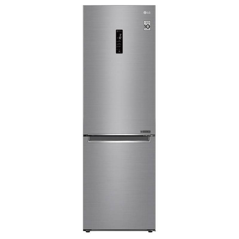 Chladnička s mrazničkou LG GBB61PZHZN + LG 10 let záruka na Lineární kompresor
