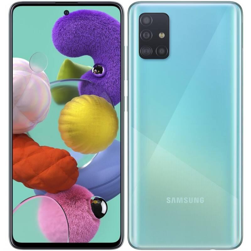 Mobilný telefón Samsung Galaxy A51 (SM-A515FZBVEUE) modrý + Doprava zadarmo