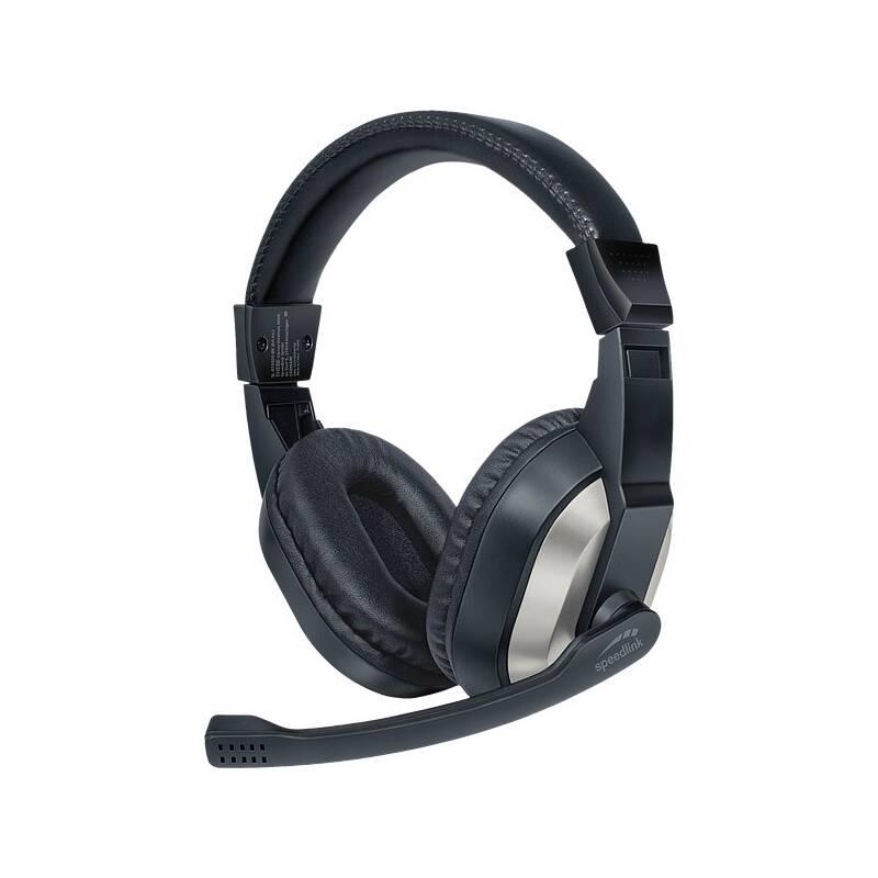 Headset Speed Link THEBE Stereo (SL-870020-BK) čierny