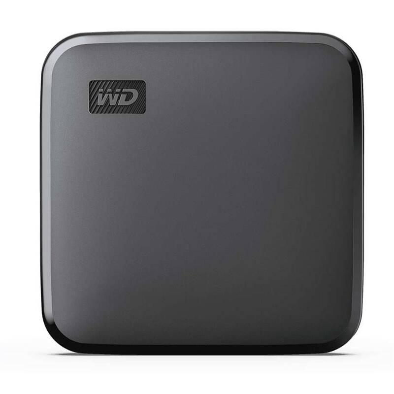 SSD externý Western Digital Portable SE 480GB (WDBAYN4800ABK-WESN) čierny