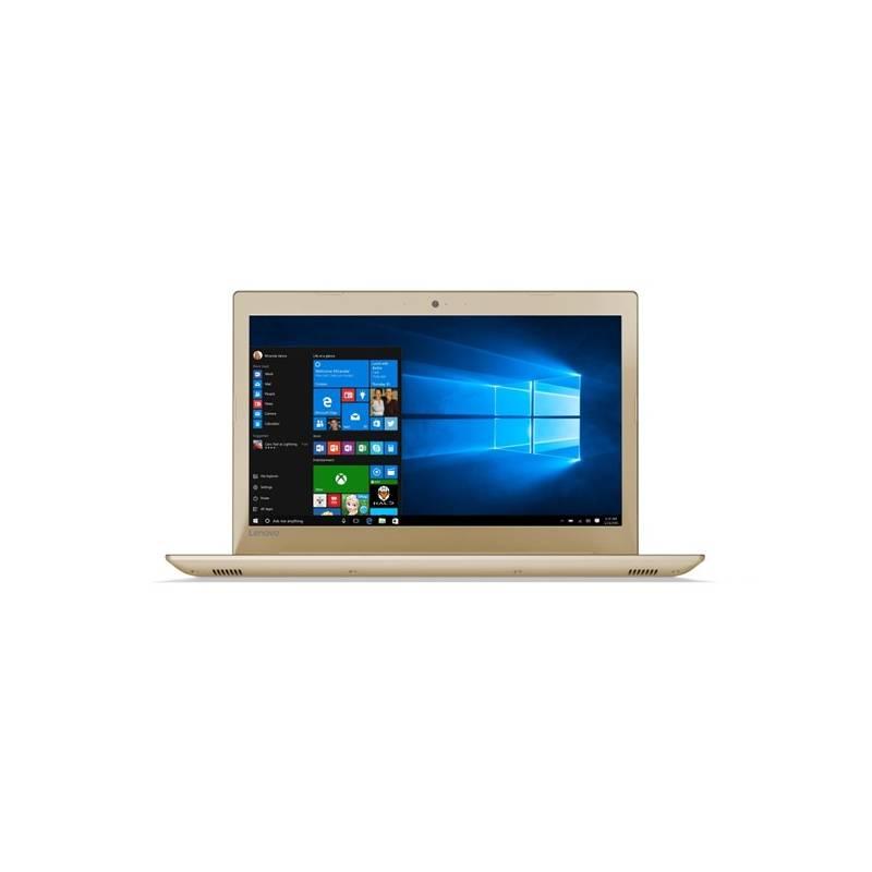 Notebook Lenovo IdeaPad 520-15IKBR (81BF0016CK) zlatý Software F-Secure SAFE, 3 zařízení / 6 měsíců (zdarma) + Doprava zadarmo