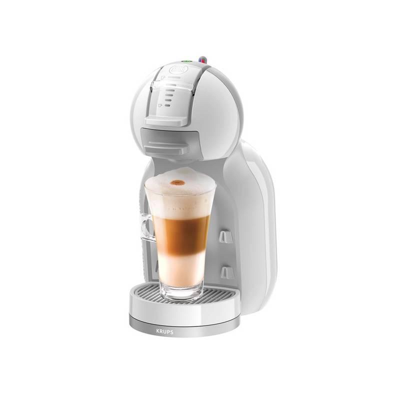 Espresso Krups NESCAFÉ Dolce Gusto Mini Me KP1201CS sivé/biele Kapsule pre espressa NESCAFÉ Dolce Gusto® Latte Macchiatto BOX
