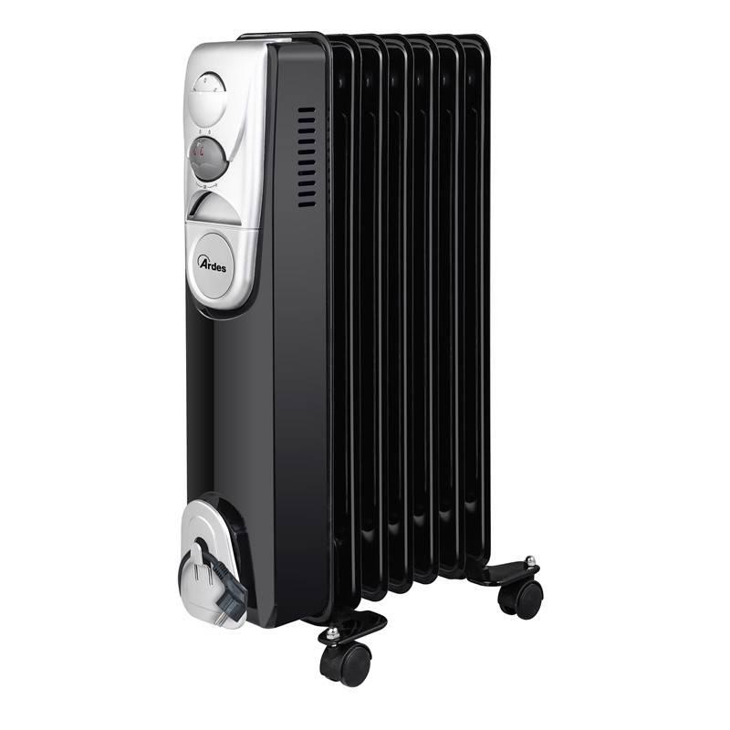 Olejový radiátor Ardes 4R07B čierny