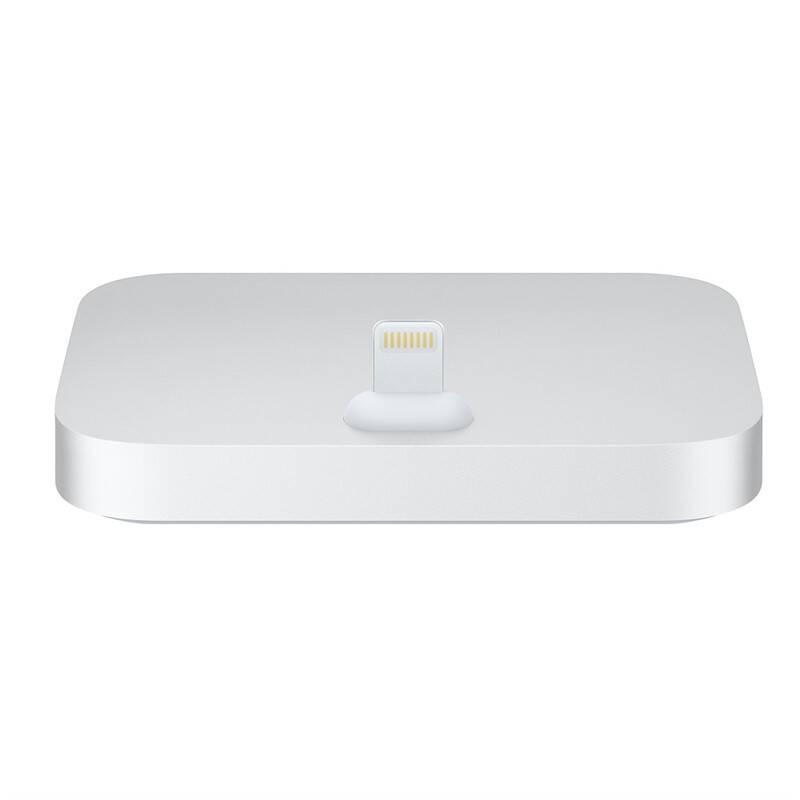 Nabíjací stojan Apple Lightning Dock pro iPhone (ML8J2ZM/A) strieborný + Doprava zadarmo