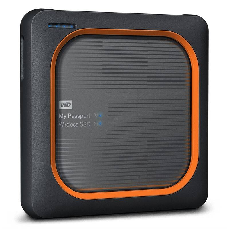 Sieťové úložište Western Digital My Passport Wireless SSD 500GB (WDBAMJ5000AGY-EESN)
