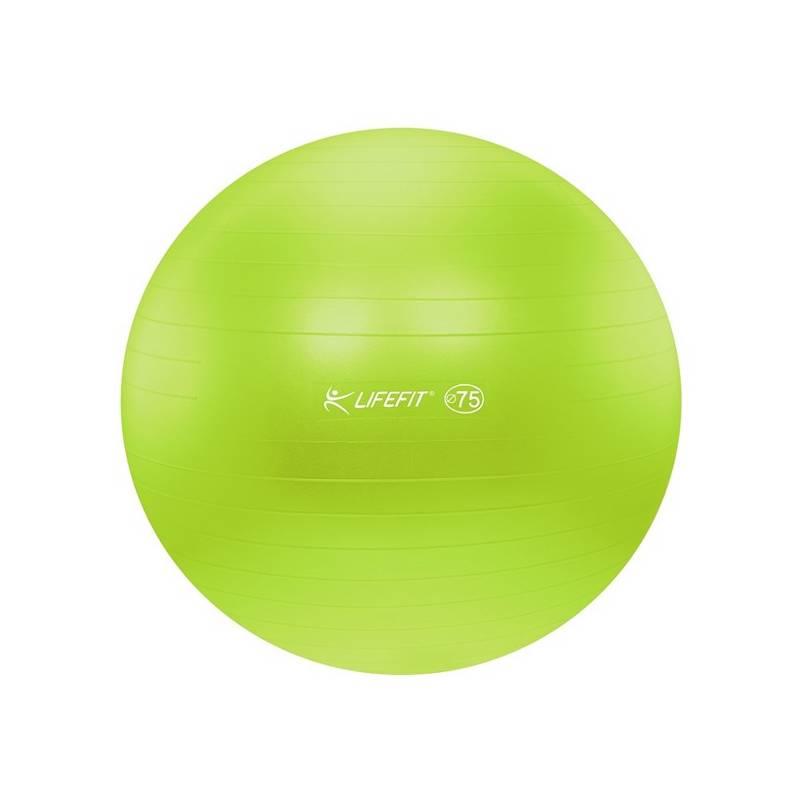 Gymnastická lopta LIFEFIT ANTI-BURST 75 cm zelený