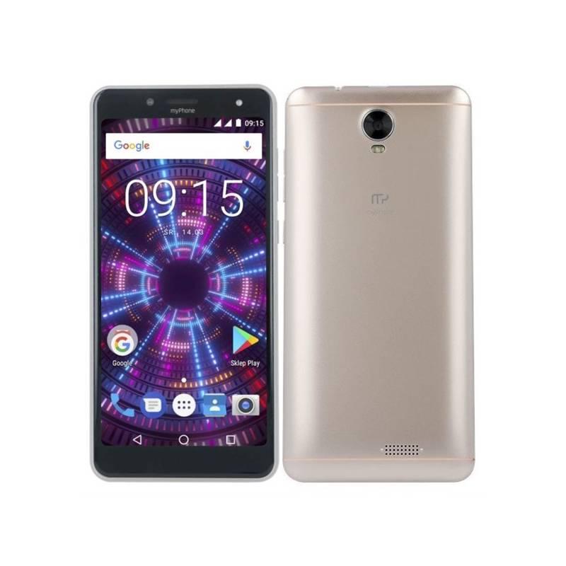 Mobilný telefón myPhone FUN 18x9 (TELMYAFUN189GO) zlatý