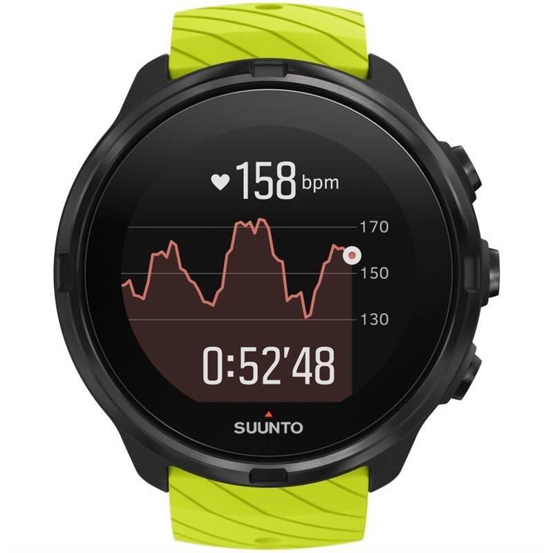 Chytré hodinky Suunto 9 - Lime (SS050144000)