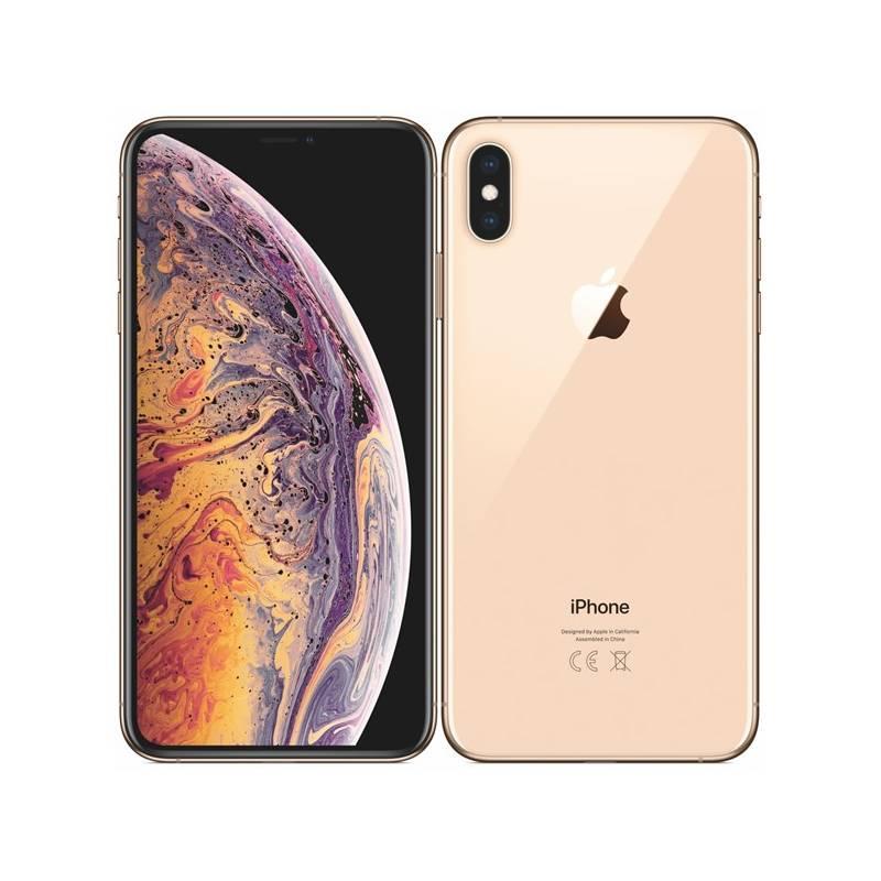 Mobilní telefon Apple iPhone Xs Max 256 GB - gold (MT552CN/A)