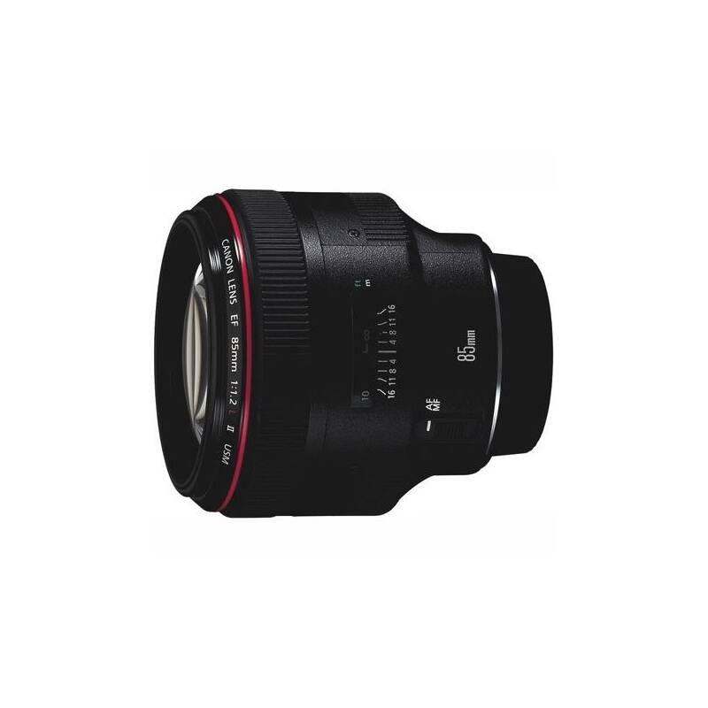 Objektív Canon EF 85 mm f/1.2L II USM (1056B008AA) čierny + Doprava zadarmo