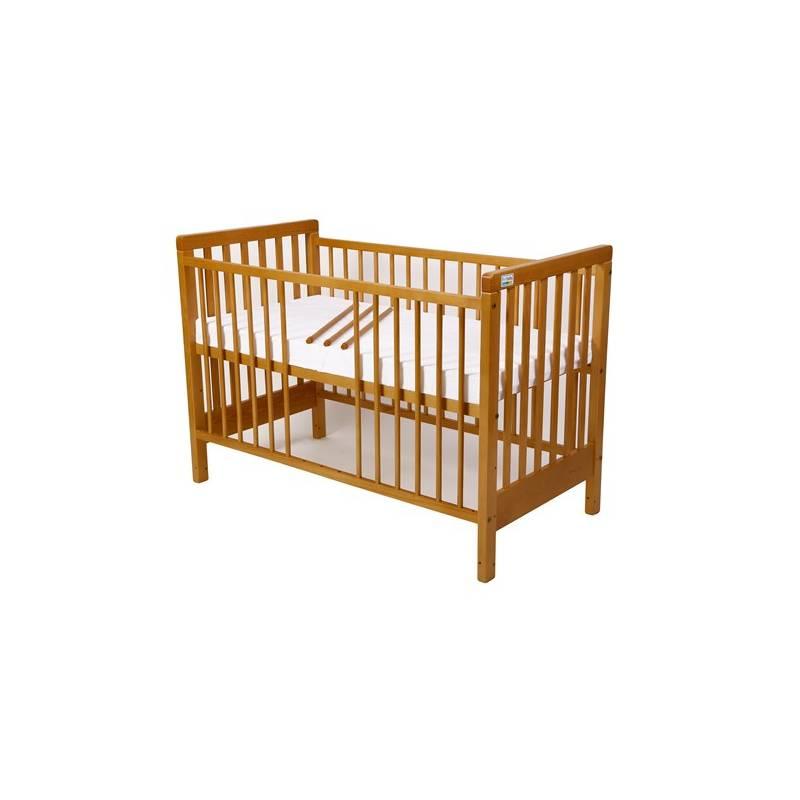 Postieľka detská drevená For Baby Věra vyndavací příčky buk + Doprava zadarmo