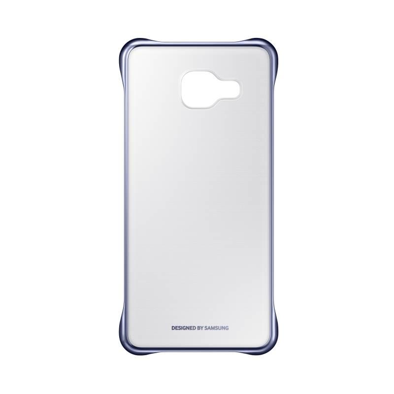 Kryt na mobil Samsung Clear Cover pro Galaxy A3 2016 (EF-QA310C) (EF-QA310CBEGWW) čierny