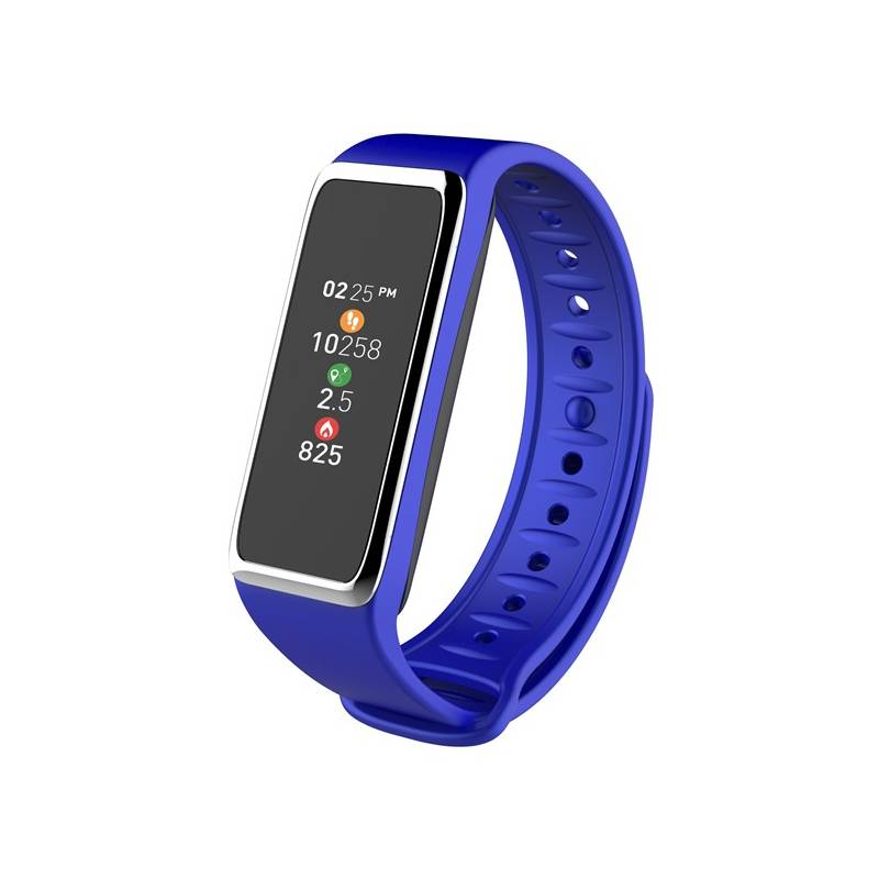 Fitness náramok MyKronoz ZeFit3 (NEHOKRFIT3054) strieborný/modrý + Doprava zadarmo