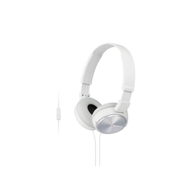 Slúchadlá Sony MDRZX310APW.CE7 (MDRZX310APW.CE7) biela