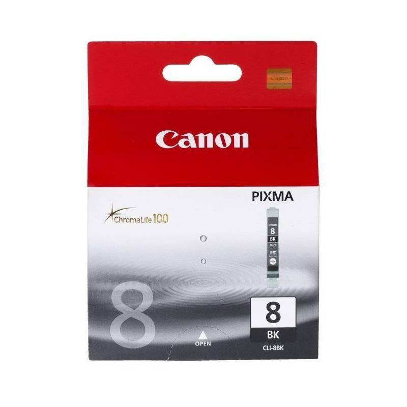 Cartridge Canon CLI-8Bk, 940 stran - originální (0620B001) čierna