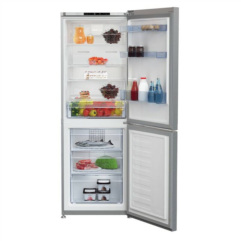 Kombinácia chladničky s mrazničkou Beko CNA340I30XB + Doprava zadarmo