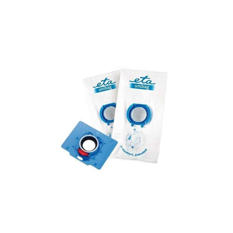 Sáčky pre vysávače ETA UNIBAG startovací set č. 10 9900 68080 - 1 x adaptér + 2 x sáček 3 l biely/modrý