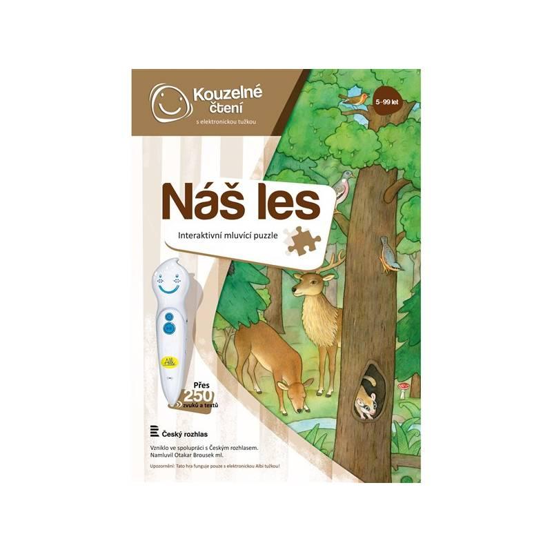 Kúzelné čítanie Albi Puzzle Náš les