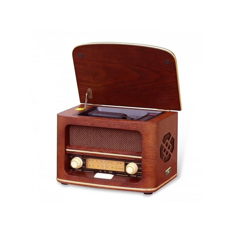 Rádioprijímač Orava SK RR-51 A (RR-51 A) drevené