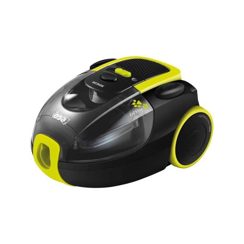 Vysávač podlahový Sencor SVC 1030-EUE2 čierny/žltý