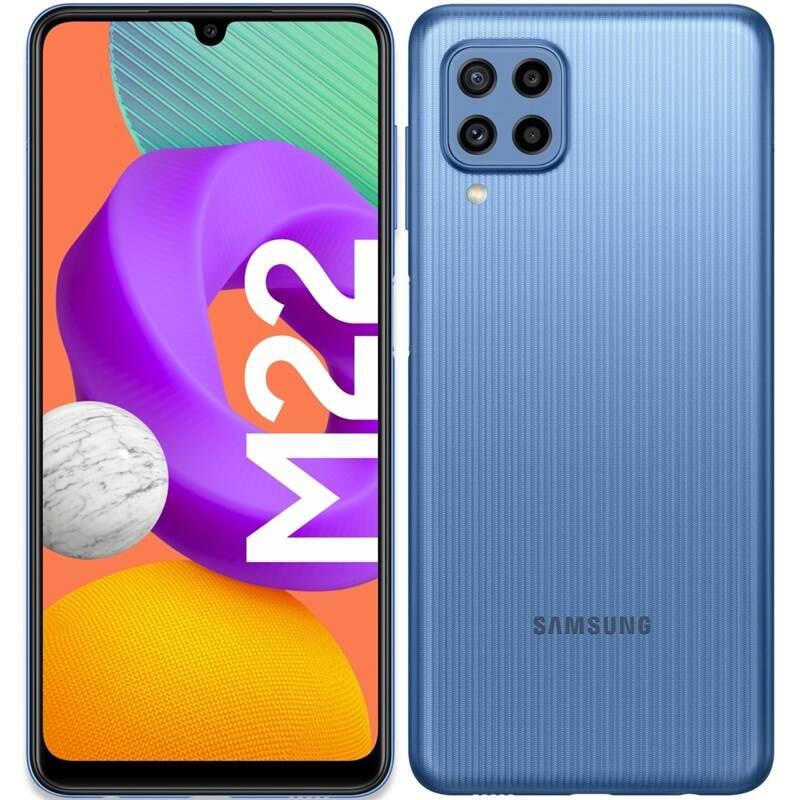 Mobilný telefón Samsung Galaxy M22 (SM-M225FLBGEUE) modrý