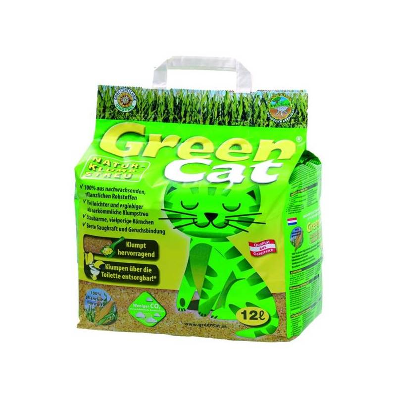 Podstielky Agros Green Cat 12l