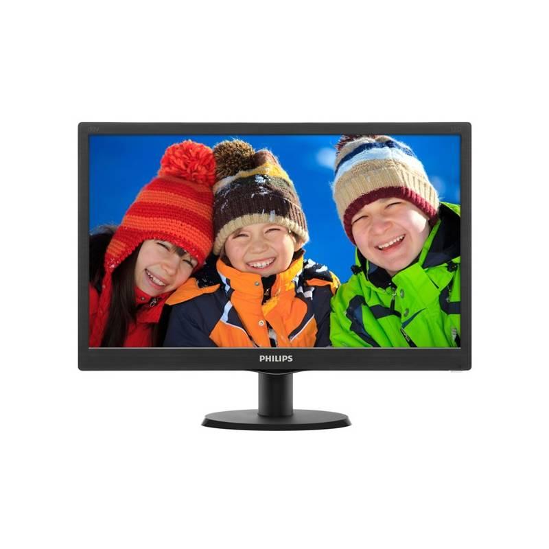 Monitor Philips 193V5LSB2 (193V5LSB2/10) čierny
