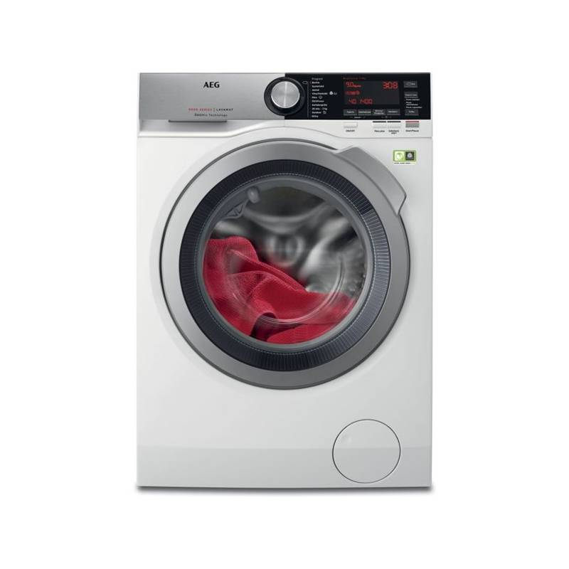 Automatická práčka AEG ÖKOMix® L8FEC49SC biela Čistič oken ETA Aquarelo 0262 90000 (zdarma) + Doprava zadarmo