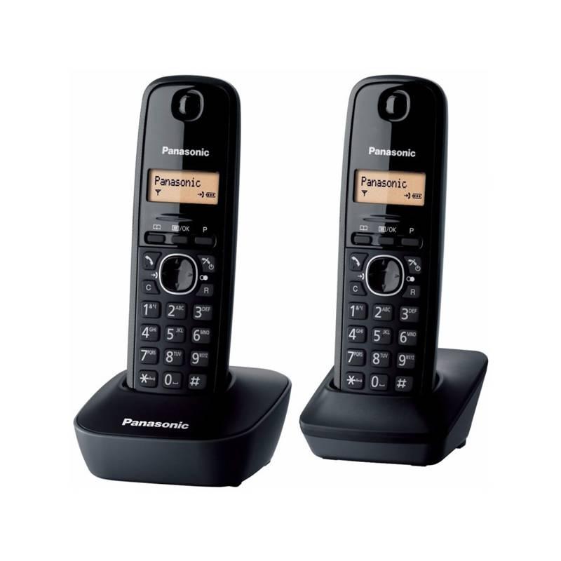 Domáci telefón Panasonic KX-TG1612FXH (KX-TG1612FXH) sivý