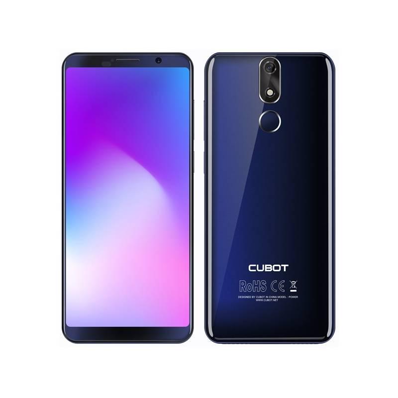 Mobilný telefón CUBOT Power Dual SIM (PH3844) modrý + Doprava zadarmo