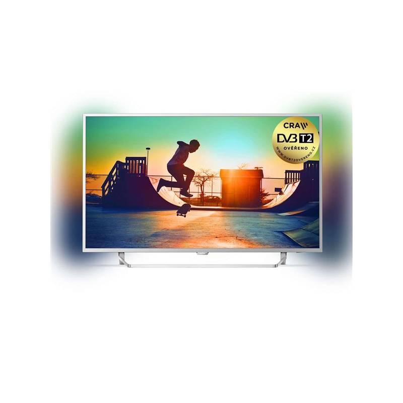 Televízor Philips 49PUS6412/12 strieborná + Doprava zadarmo