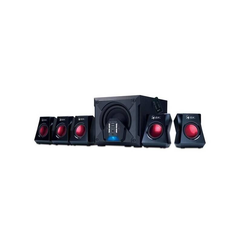Reproduktory Genius GX Gaming SW-G5.1 3500 (31731017100) černé/červené