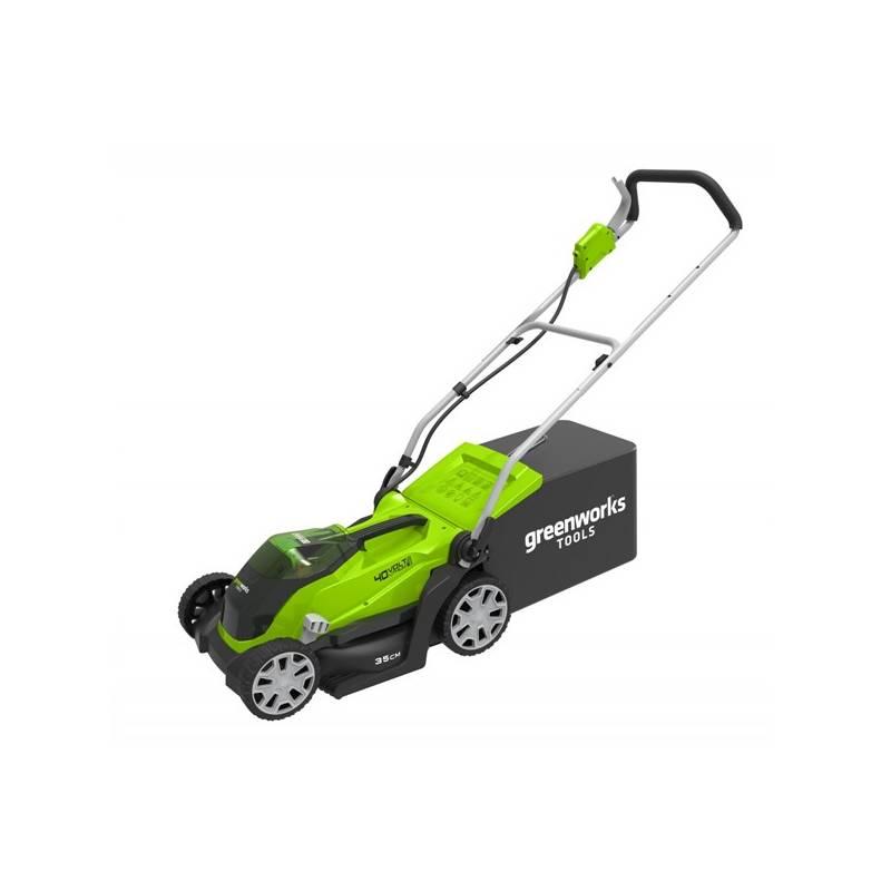 Kosačka Greenworks G40LM35, bez beterie a nabíječky + Doprava zadarmo