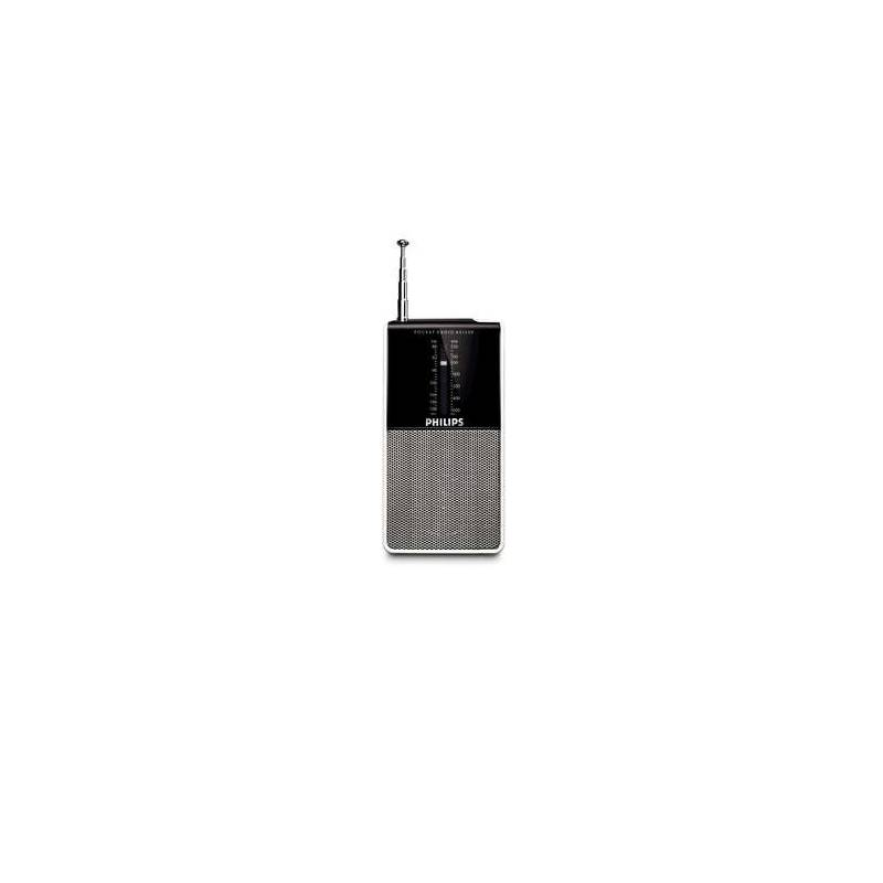 Rádioprijímač Philips Pocket radio AE AE1530 čierny/strieborný