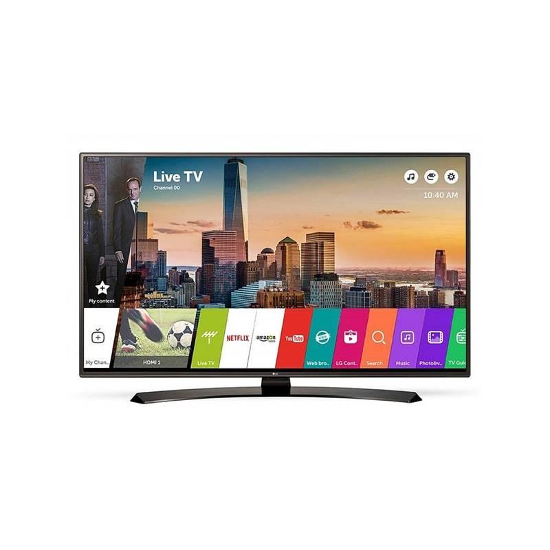 Televízor LG 55LJ625V čierna