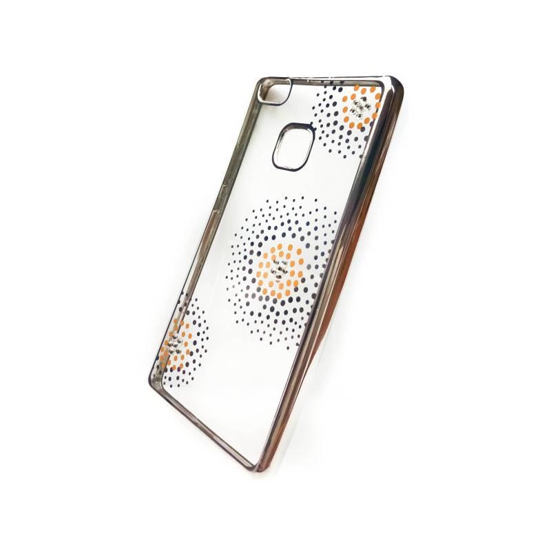 Kryt na mobil Beeyo Flower Dots pro Huawei P9 Lite (BEAHUP9LTPUFLSI)  strieborný a1b9f225a79