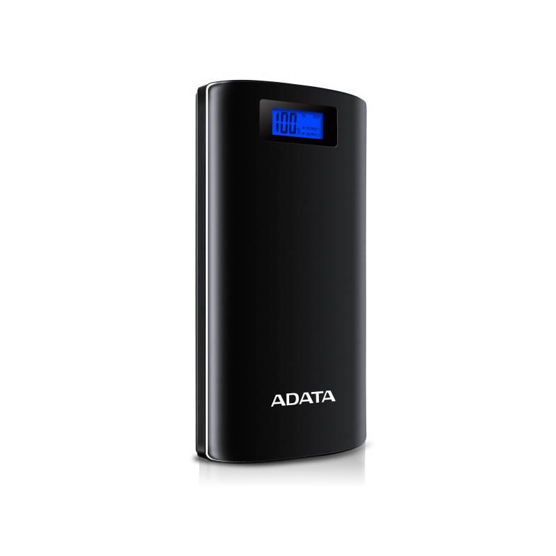 Power Bank ADATA P20000D 20000mAh (AP20000D-DGT-5V-CBK) čierna