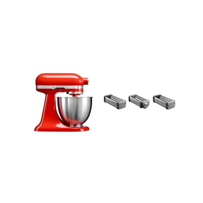 Set KitchenAid - kuchyňský robot 5KSM3311XEHT + KPRA sada strojků na těstoviny + Doprava zadarmo