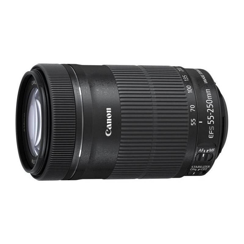 Objektív Canon EF-S EF-S 55-250mm f/4.0-5,6 IS STM + Doprava zadarmo