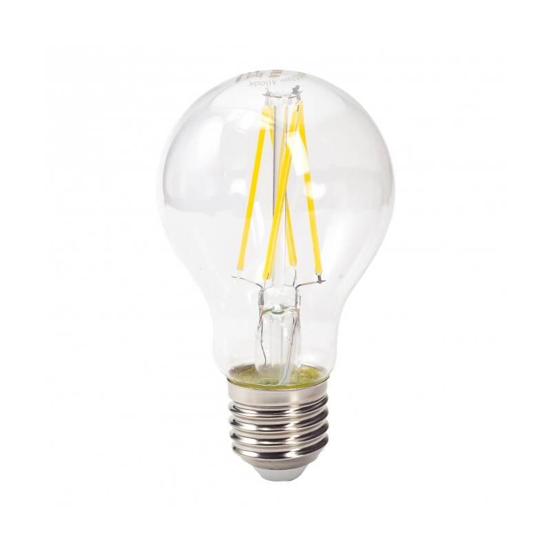 LED žiarovka Tesla Retro Filament klasik, 8W, E27, neutrální bílá (BL270840-7)