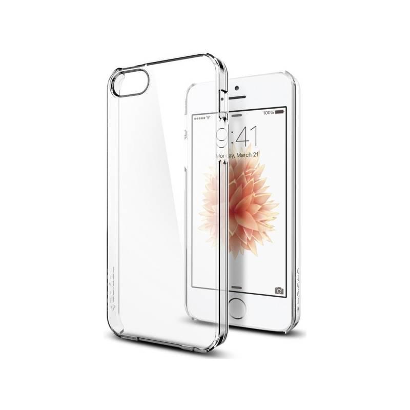 Kryt na mobil Spigen Thin Fit Apple iPhone 5/5s/SE (041CS20246) priehľadný