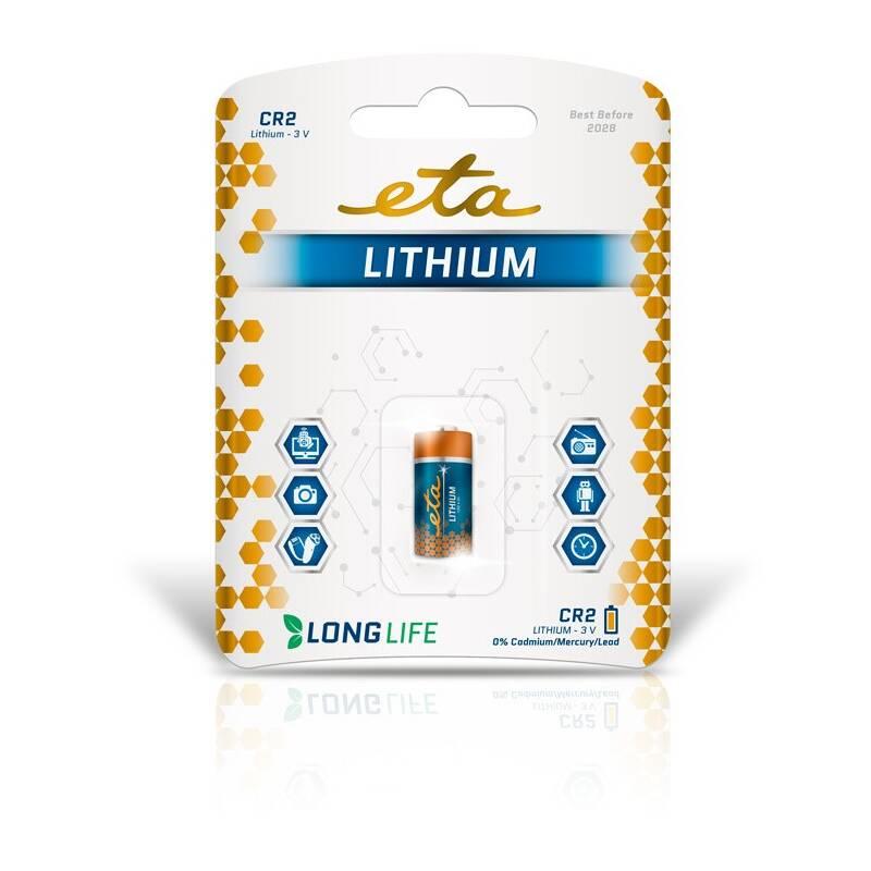 Baterie lithiová ETA PREMIUM CR2, blistr 1ks (CR2LITH1)