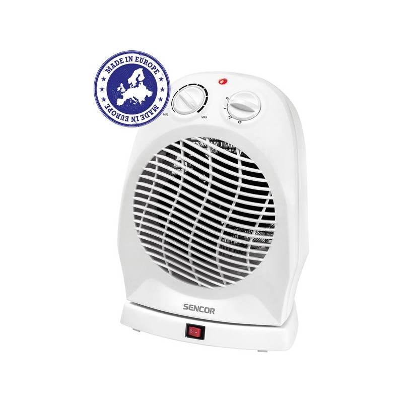 Teplovzdušný ventilátor Sencor SFH 7051WH biely
