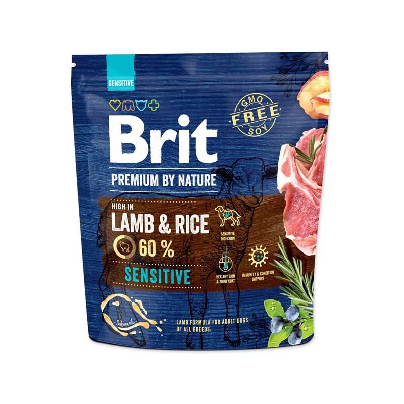 Granule Brit Premium Dog by Nature Sensitive Lamb 1 kg