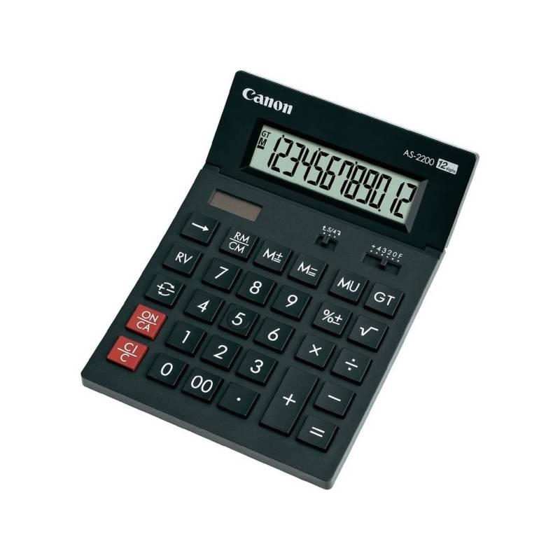 Kalkulačka Canon AS-1200 (4599B001) čierna