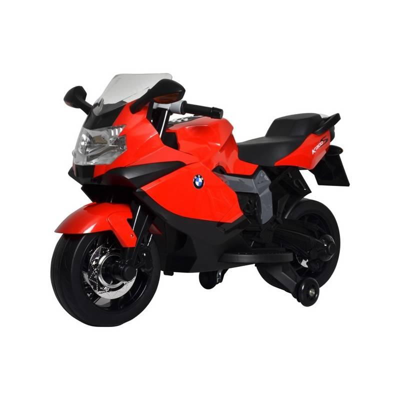 Elektrická motorka Buddy Toys BEC 6011 BMW K1300 biela/červená